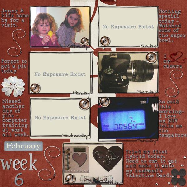 P52 - Week 6 - Feb 5 to 11