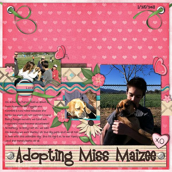 Adopting Miss Maizee