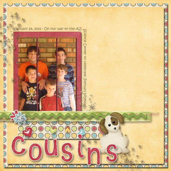 Cousins - Speed Scrap 3/13/11