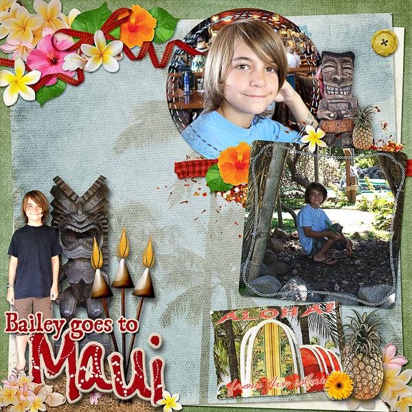 Bailey goes to Maui