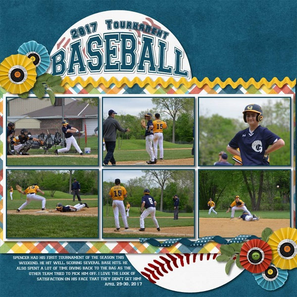 2017 Tournament Baseball