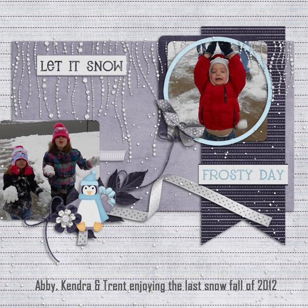 Last snowfall of 2012