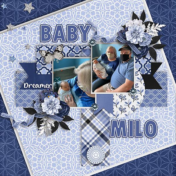 Baby Milo, Papa, Nana