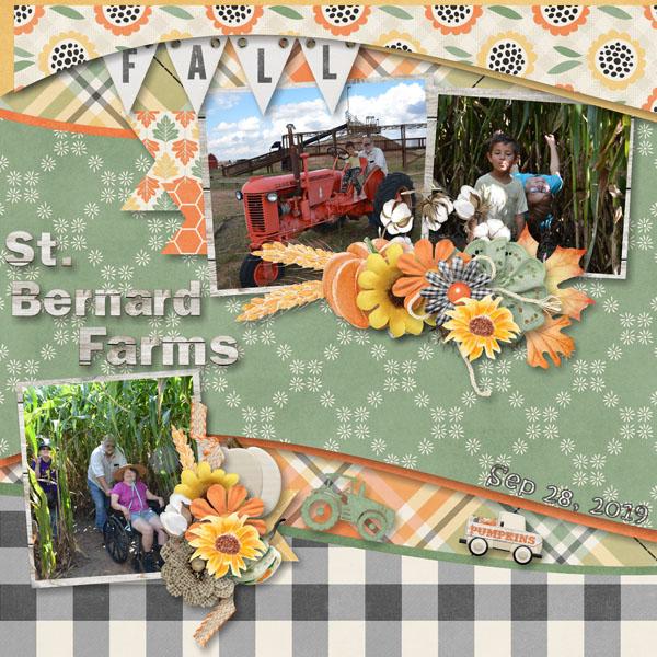 St Bernard Farms Fall