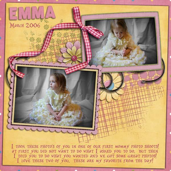 Emma's 2006 Photo Shoot