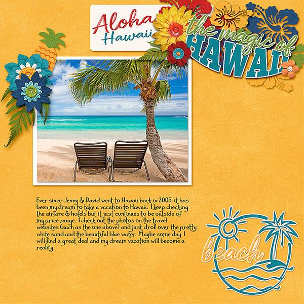 My Dream Hawaii