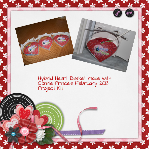 Hybrid - Heart Basket