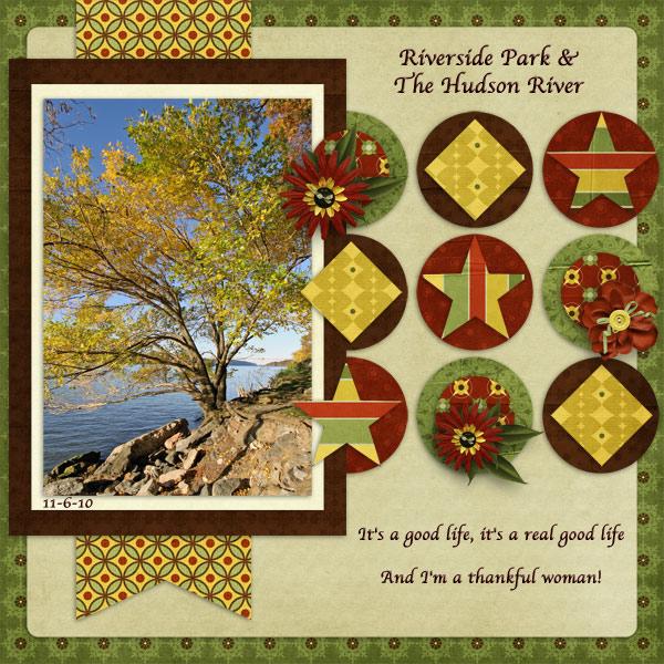 It's A Good Life - Riverside Park Tree