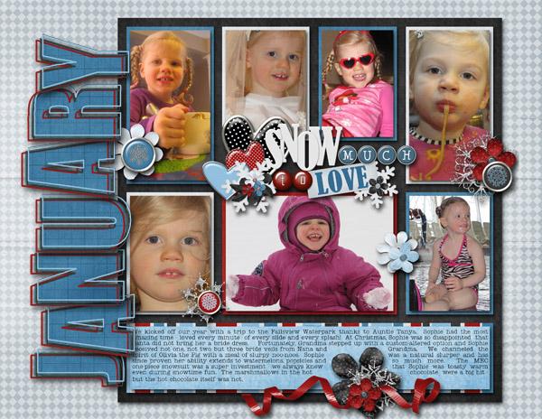 January 2012 calendar topper