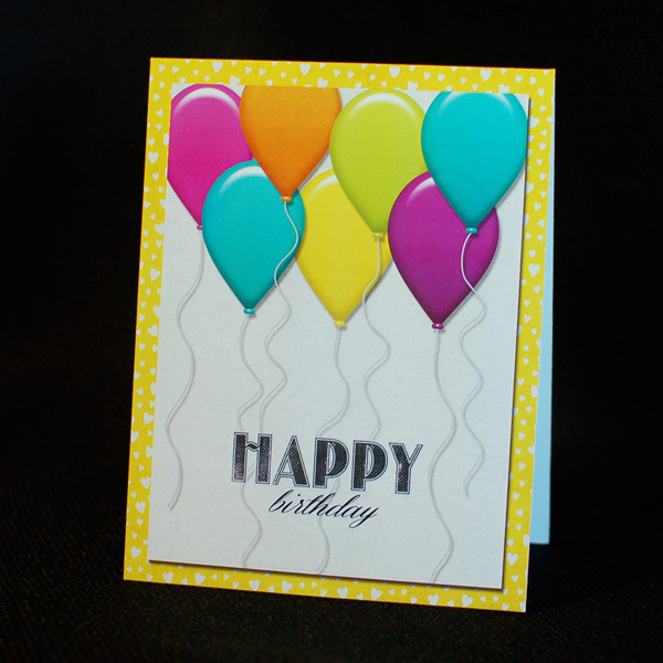 Lets Party birthday card 2