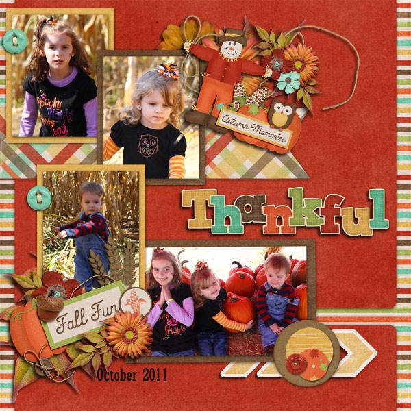 Fall Fun - Thankful