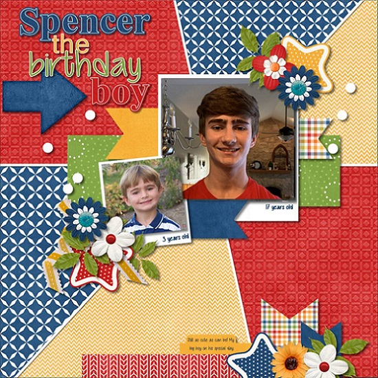 Spencer the Birthday Boy