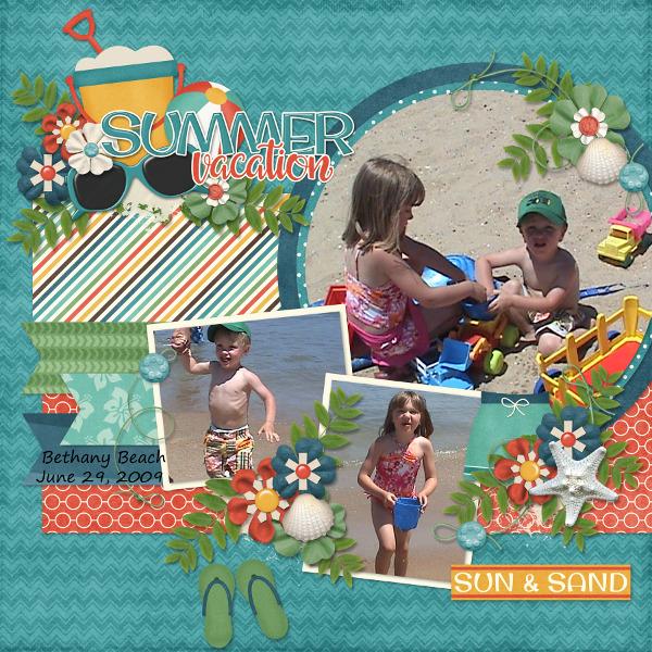Summer Vacation {Bethany Beach 2009}