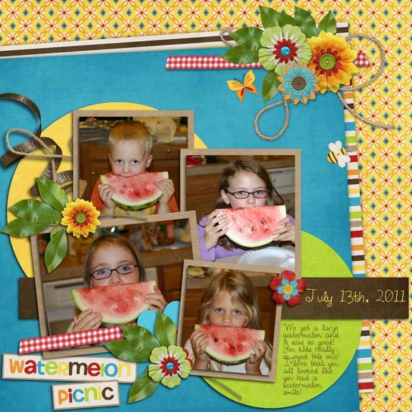 Watermelon Picnic