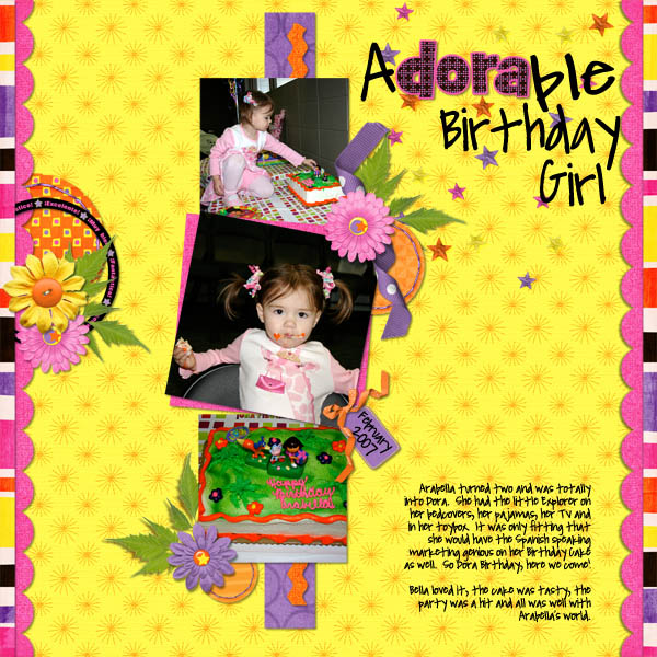 Adorable Birthday Girl