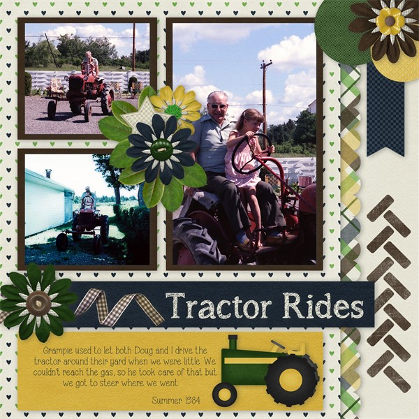 Big Green Tractor - Tractor Rides