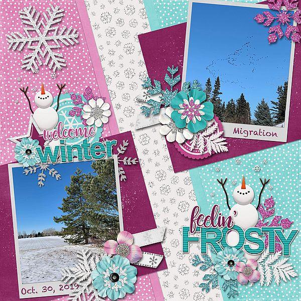 Feelin Frosty