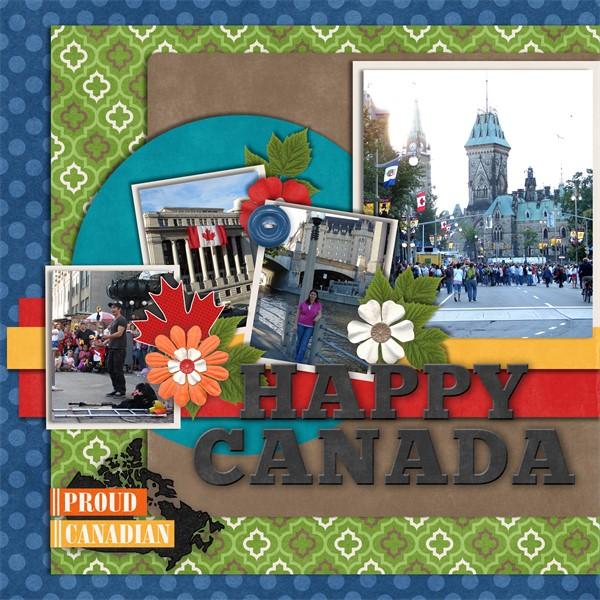 Travelogue Canada 1