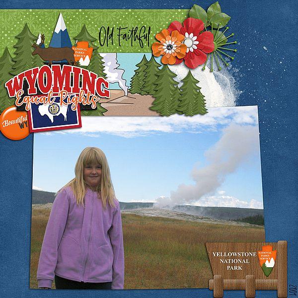 Wyoming Yellowstone Park