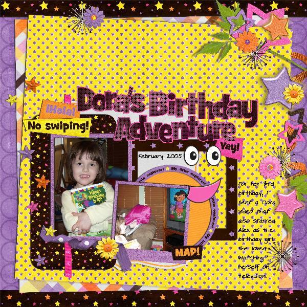 dora's birthday adventure