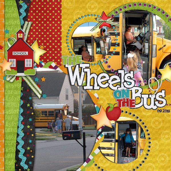 the wheels of the bus