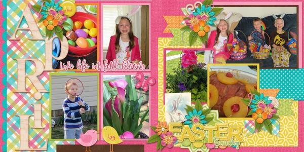 My April 2014