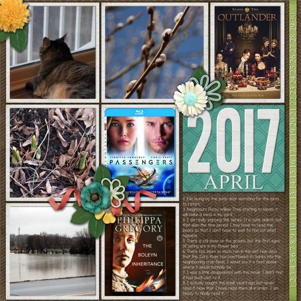 April Template Bundle - 100 Days Of Happy