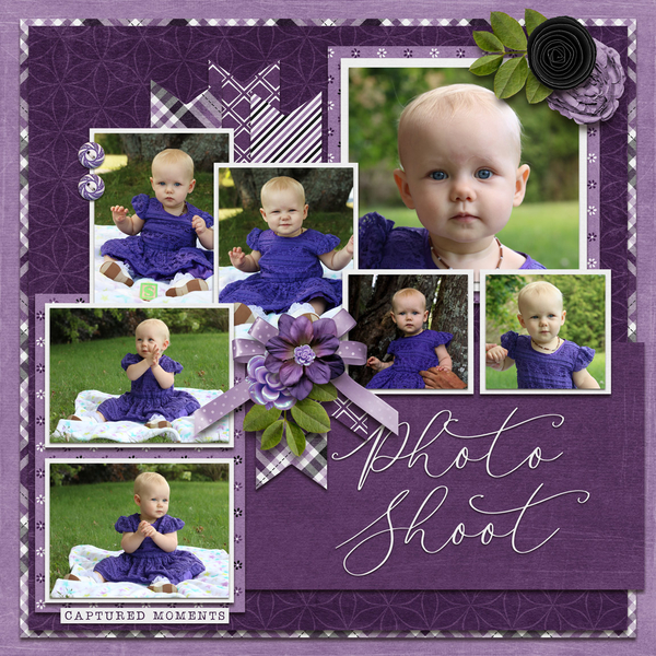 Template Bundle May 2020 - Paint Chips - Hot Purple
