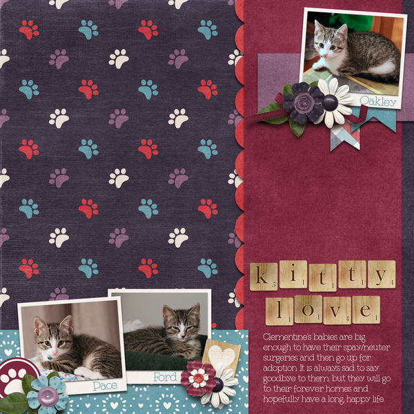 October 2019 Template Bundle - Cat's Meow