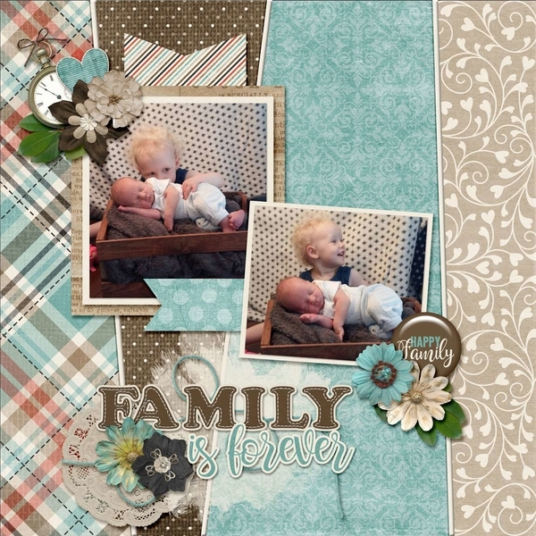 Template Bundle July - Family Tree