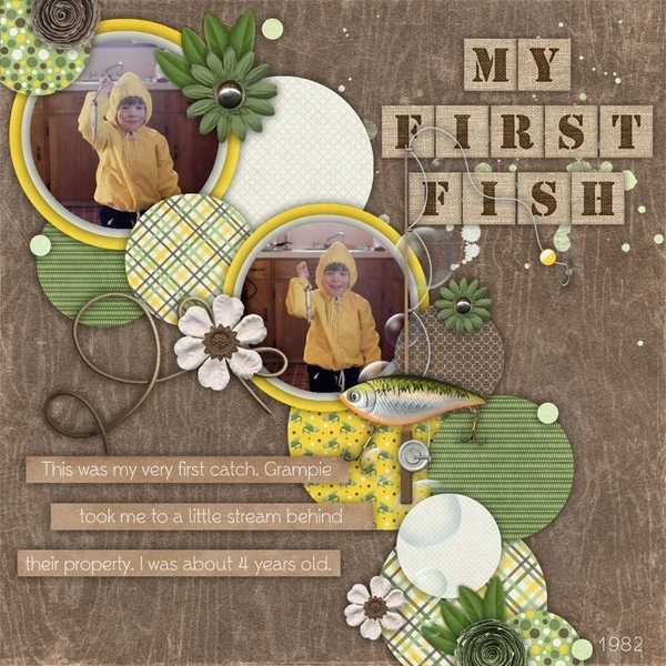 May Template Bundle - Gone Fishin
