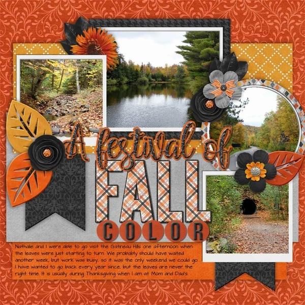 September Template Bundle - Perfectly Pumpkin
