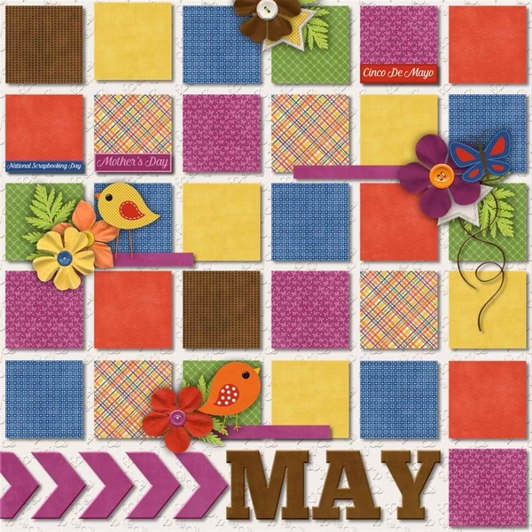 May Template Bundle - Project 2015 May