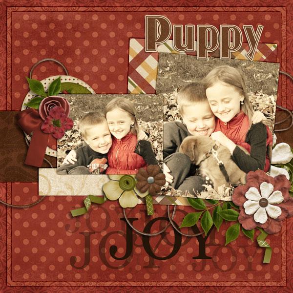Puppy Love Left