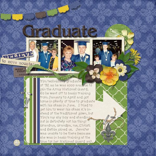 Tim's graduation page 2