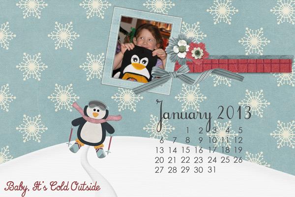 December Desktop Challenge