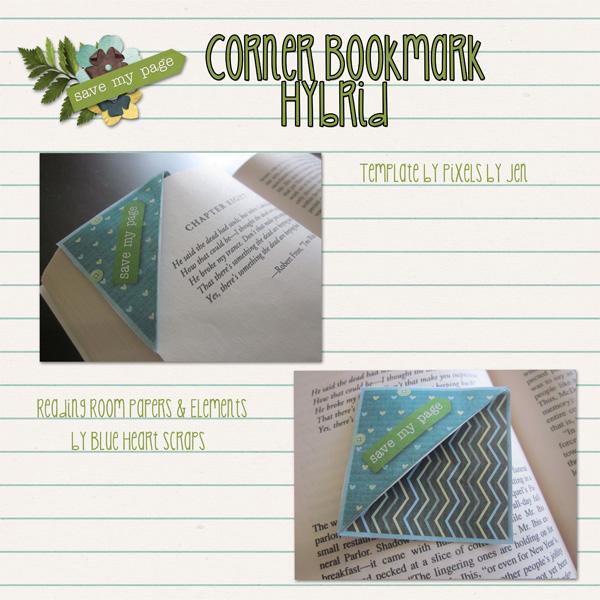 Corner Bookmark Hyrbid