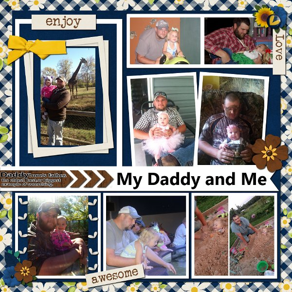 Template Chall July - Daddy and Me