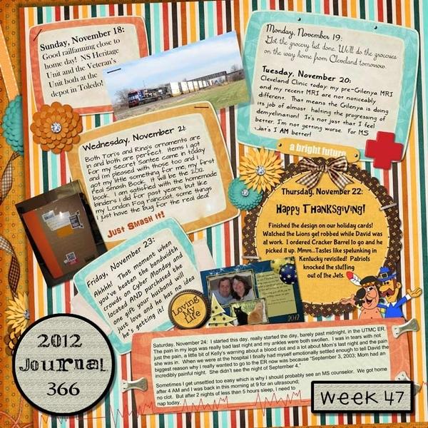 Journal 366, Week 47