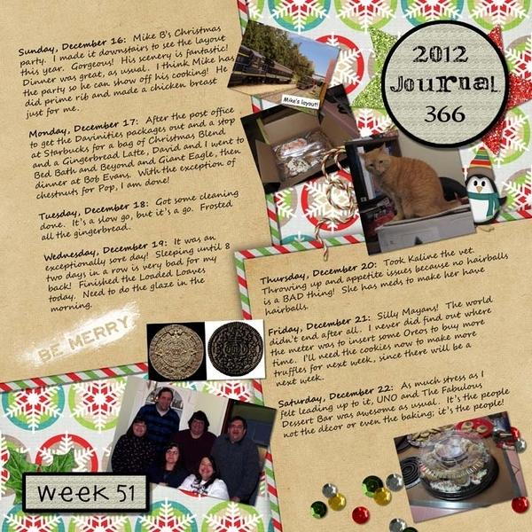 Journal 366, Week 51