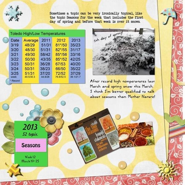 52 topix, Week 12 – Seasons, page 1