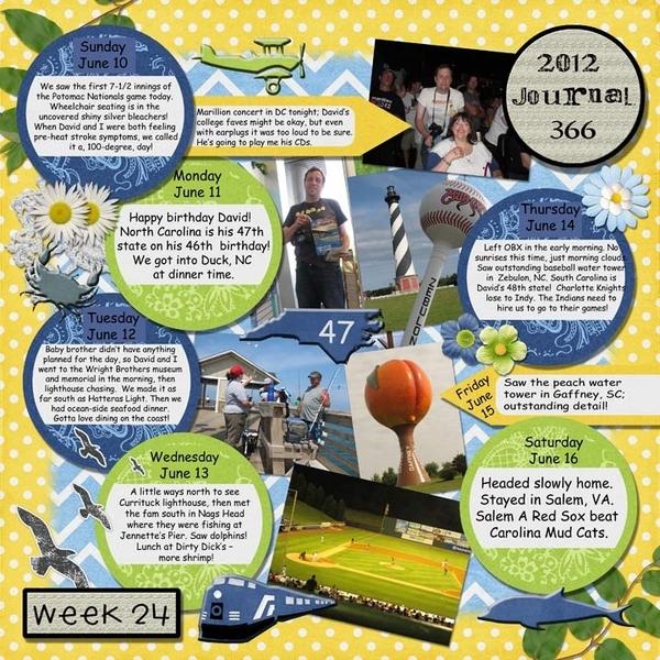 Journal 366, Week 24