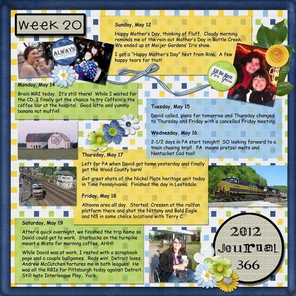 Journal 366 - Week 20