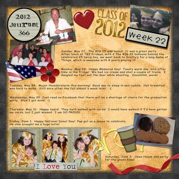 Journal 366, Week 22