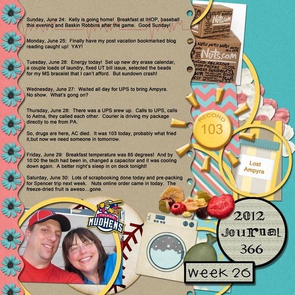 Journal 366, Week 26