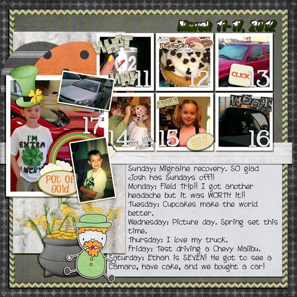 Week 11/52 [2012] - $$ & Birthdays!