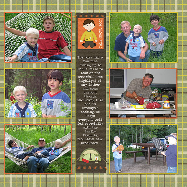 Father and Son's Campout Pg. 2