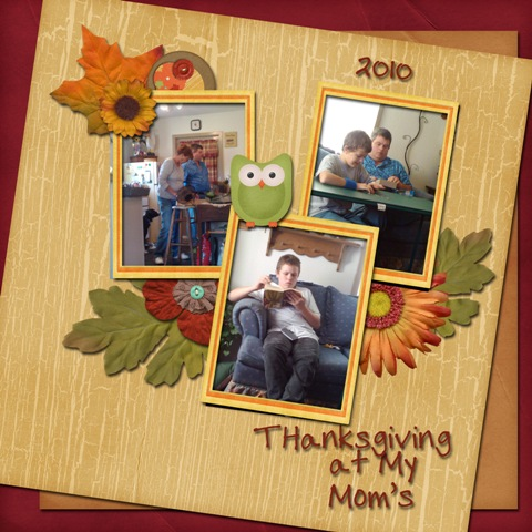 Thanksgiving at My Mom's