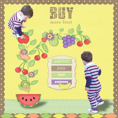 Loves All  Fruit