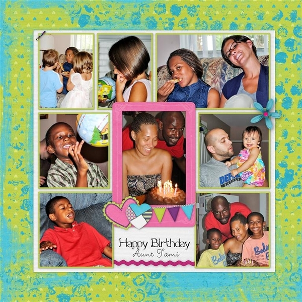 Happy Birthday Aunt Tami
